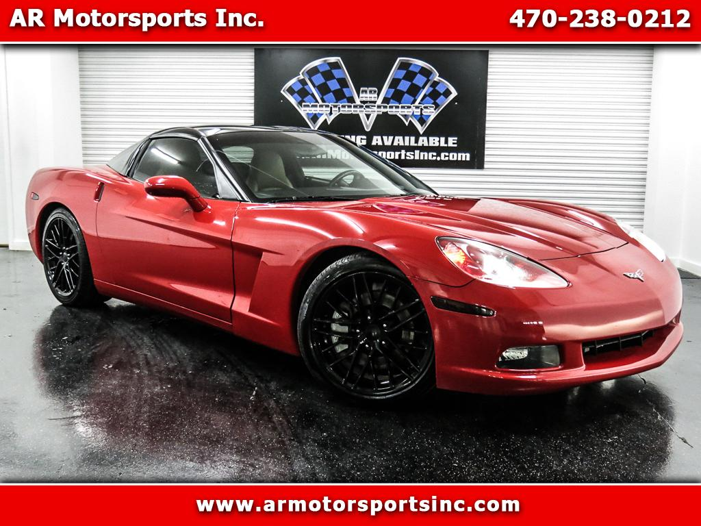 2005 Chevrolet Corvette Coupe With Removable Top