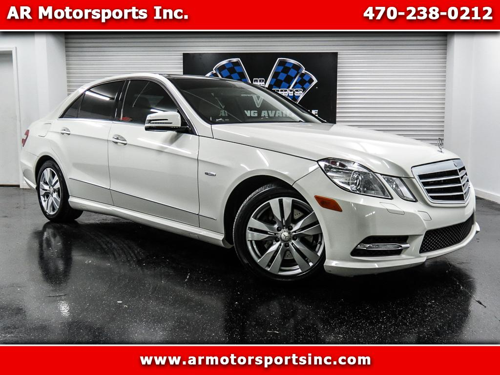 2012 Mercedes-Benz E-Class E350 BlueTEC Sedan