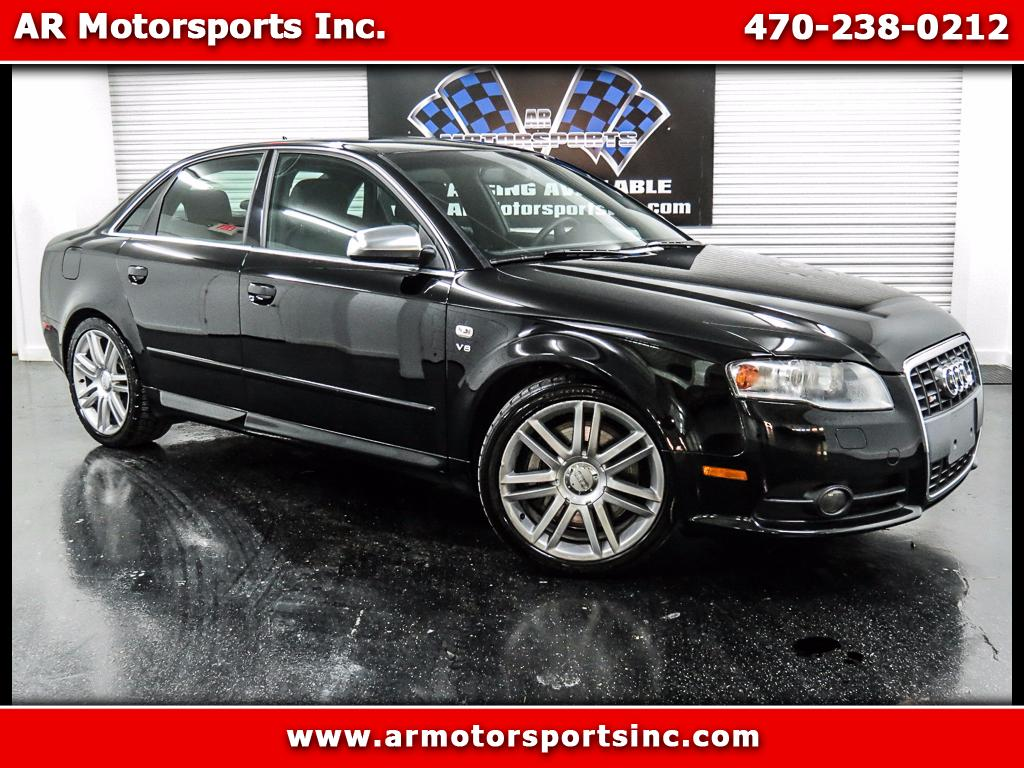 2007 Audi S4 Sport Sedan with Tiptronic