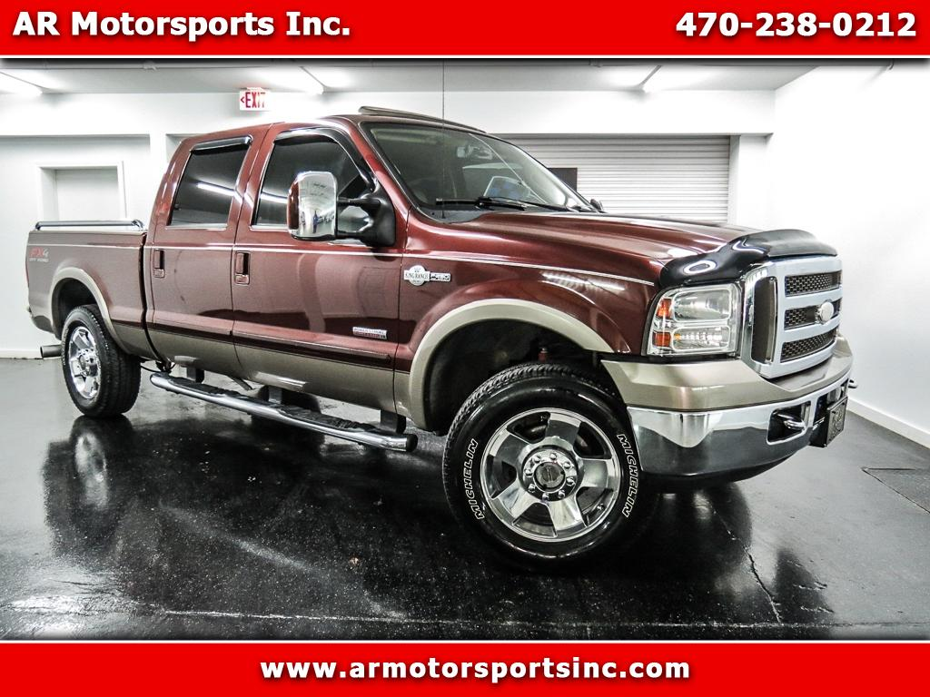 2007 Ford F-250 SD King Ranch Crew Cab 4WD BULLETPROOF 6.0L