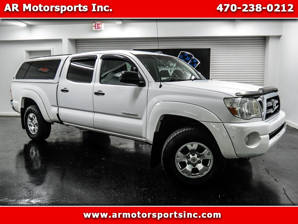 2007 Toyota Tacoma SR5 Double Cab Long Bed V6 5AT 4WD