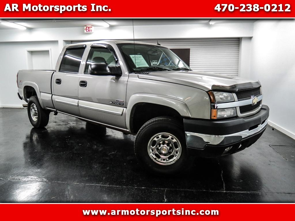 2004 Chevrolet Silverado 2500HD LT Crew Cab Long Box 4WD