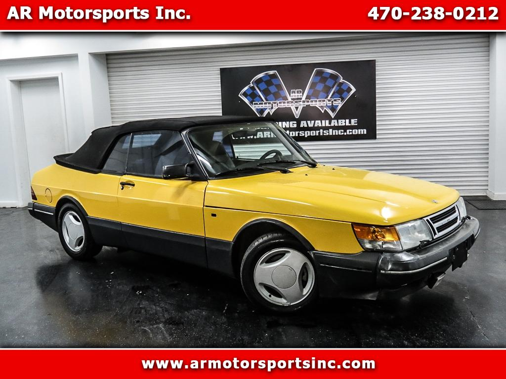 1991 Saab 900 SE Turbo convertible