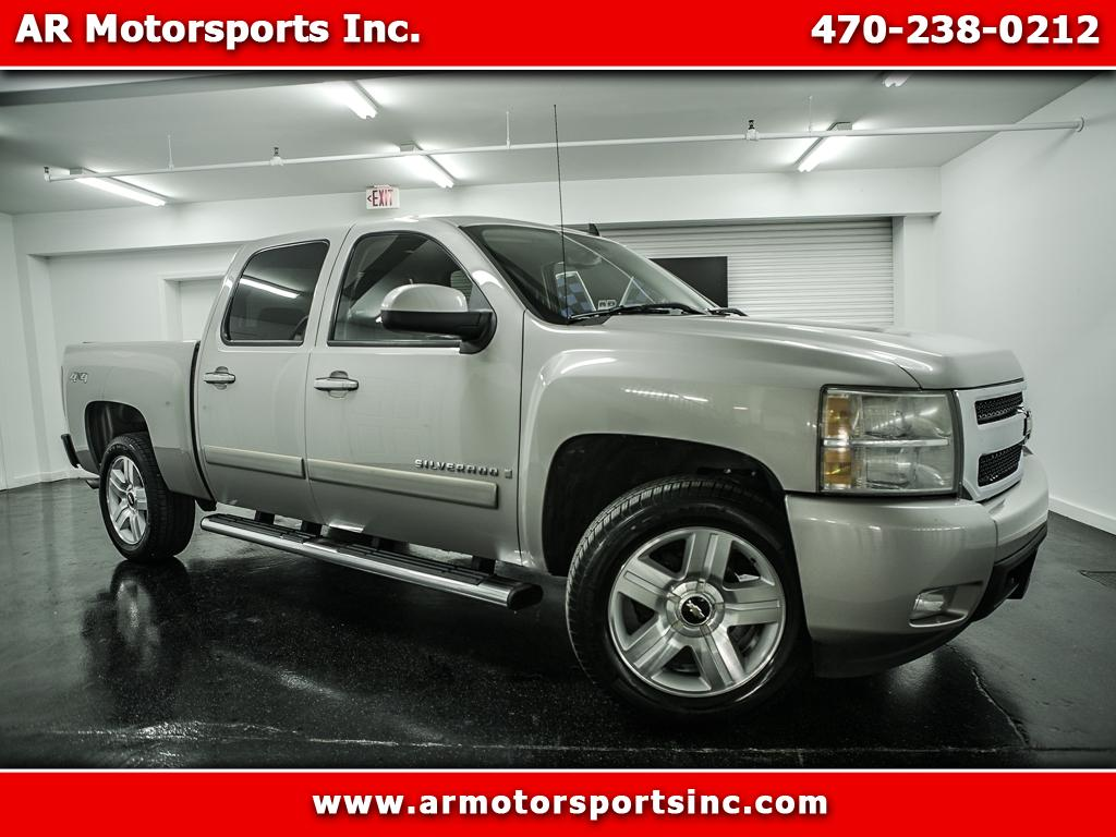 2007 Chevrolet Silverado 1500 LTZ CREW CAB 4WD WITH DVD PLAYER