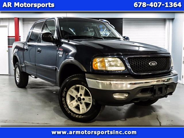 2003 Ford F-150 4WD SUPERCREW XLT