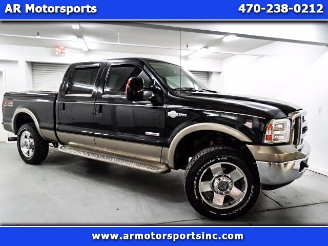 2006 Ford F-250 SD King Ranch Crew Cab Long Bed 4WD