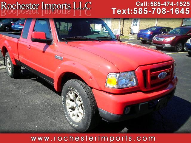 2007 Ford Ranger Sport SuperCab 4 Door 4WD