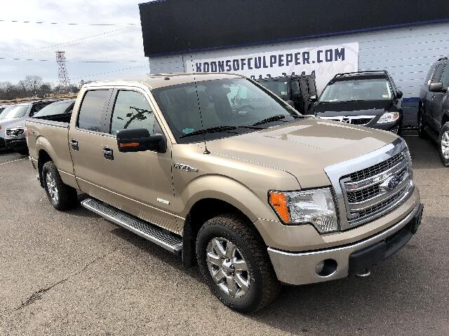 "2014 Ford F-150 4WD SuperCrew 139"" XLT"