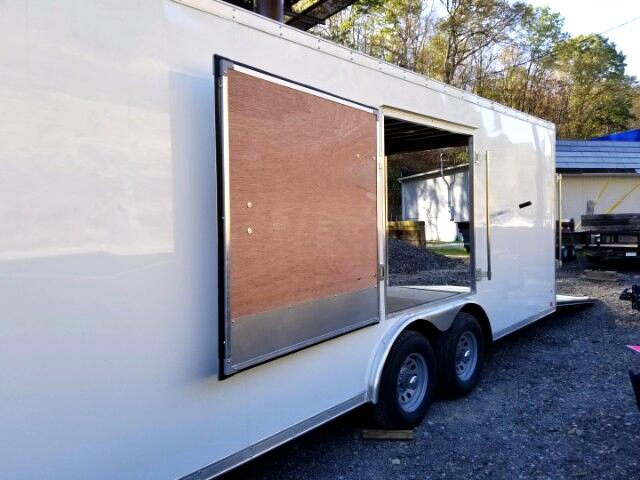 2018 Discovery 8.5x24 Challenger Car Hauler, 9990 GVW, Side Escape Door