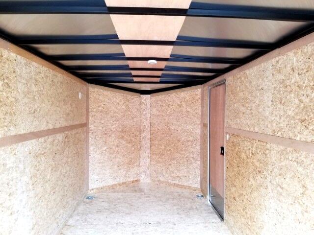 2018 Pace American 7X14 Journey SE, 6'' Extra Height, Ramp Door, Torsion