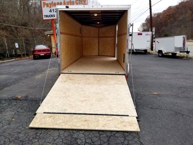 2018 Discovery 7x16 Rover SE, Ramp Door, 6'' Extra Height, D Rings