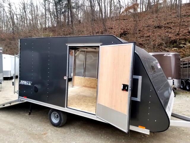 2018 Pace American Whiteout 8.5x12 Snowmobile Trailer