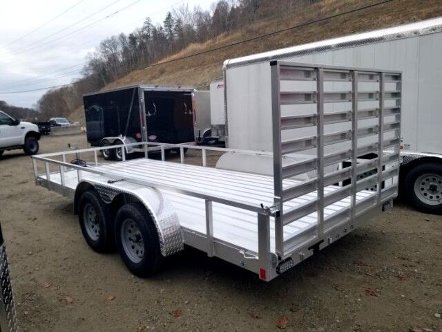 2018 Everlite 7x16 All Aluminum Tandem Axle Utility 7000 GVW