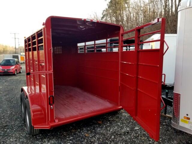 2018 Calico Livestock 6x12, 7000 GVW