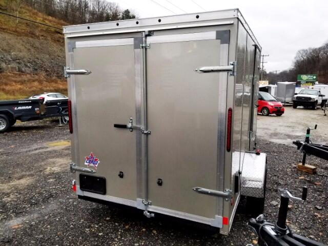 2018 US Cargo 6x10 ULAFT, Barn Doors