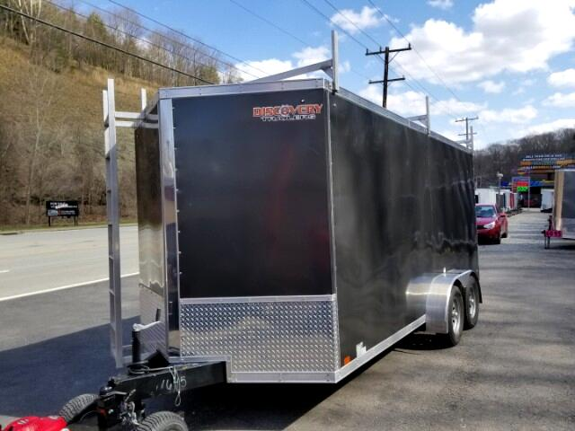 2018 Discovery 7x16 Rover SE, Ramp Door, 6'' Extra Height