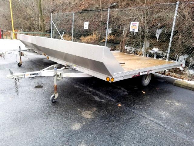 2014 Triton Trailer 8.5x11 Aluminum Tilt Trailer