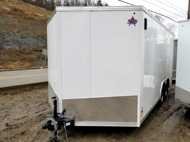 2019 US Cargo 8.5x16 ULAFT, Barn Doors