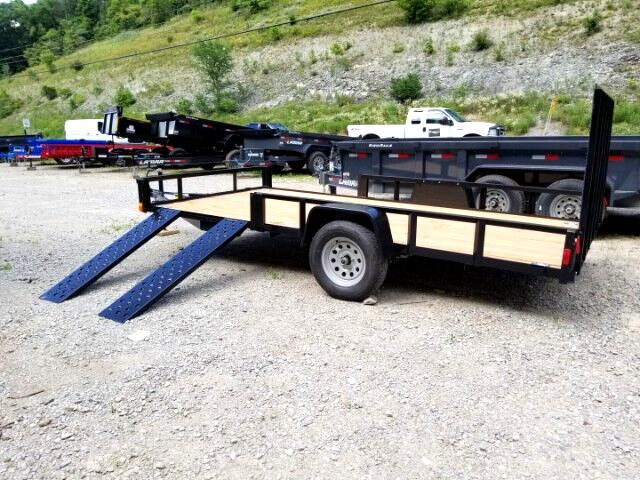 2019 Forest River Utility Trailer 7x14, ATV Package