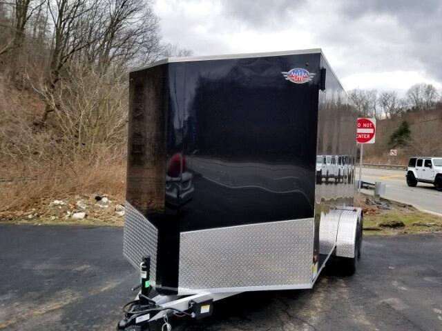 2019 US Cargo 7x14 Ramp Door, ALL ALUMINUM, 6'' Extra Height