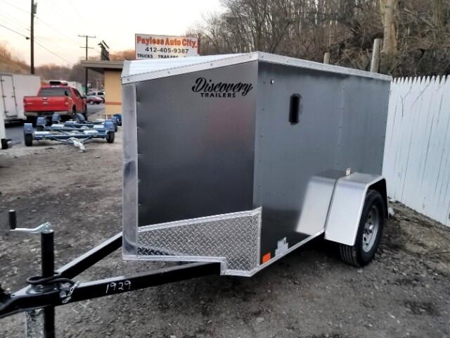 2019 Discovery 4x8 Rover ET, Barn Door