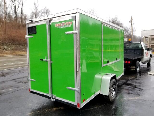 2019 Discovery 6x12 Rover SE, 6'' Extra Height, Concession Trailer