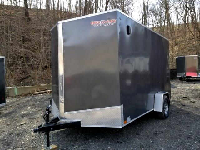 2019 Discovery 7x12 Rover ET, 12'' Extra Height, Ramp door