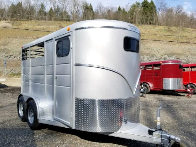 2018 Calico Horse 6x14, 7' Interior Height, 2 Horse Slant