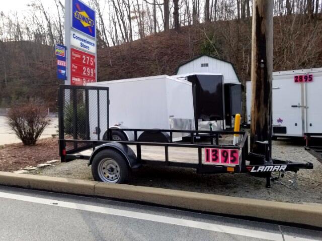 2018 Lamar 5'x10' 3K Single Axle Utility Trailer