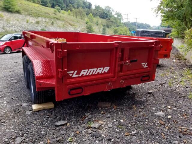2018 Lamar 10 Foot Dump 5'x10' 7000 GVW
