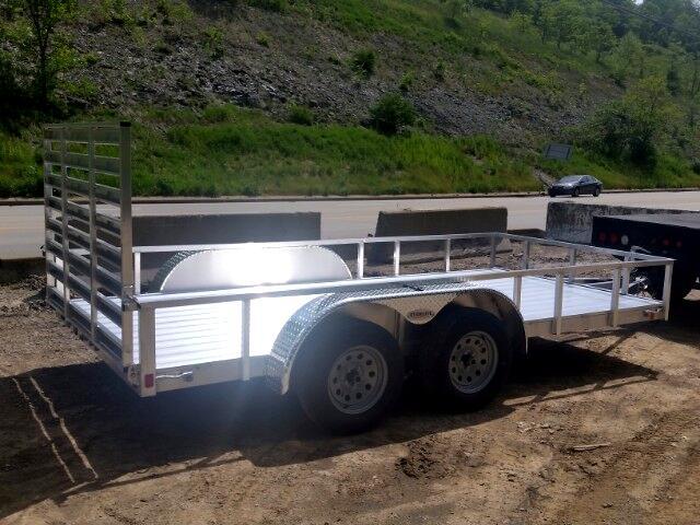 2018 Everlite 6.5x14 All Aluminum Tandem Axle Utility 7000 GVW