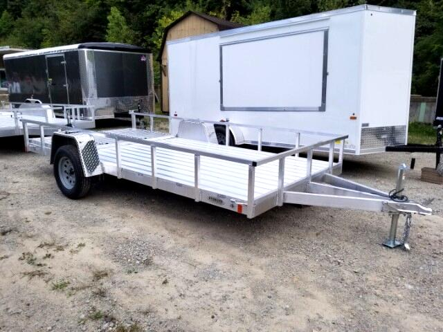2018 Everlite 6.5x14 All Aluminum Single Axle Utility 2990 GVW