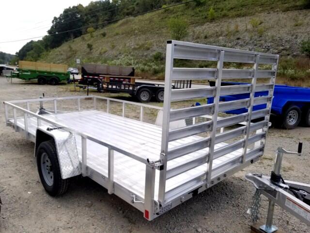 2018 Everlite 6.5x14 All Aluminum Single Axle Utility 2990 GVW