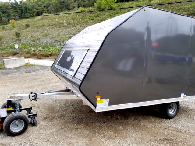 2018 US Cargo Trailer 8.5x12 Ameralite Snowmobile Trailer with Ramp Door