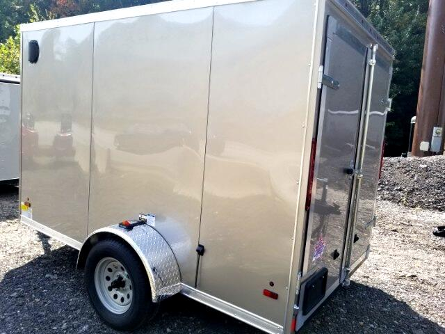 2018 US Cargo 6x10 ULAFT, Barn Doors