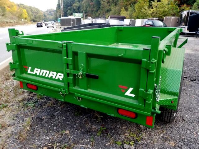 2018 Lamar 10 Foot Dump 7000 GVW