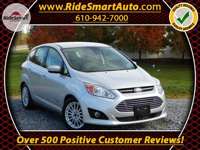 2014 Ford C-Max Energi SEL-Navigation-Bluetooth-Leather-Power Rear Hatch