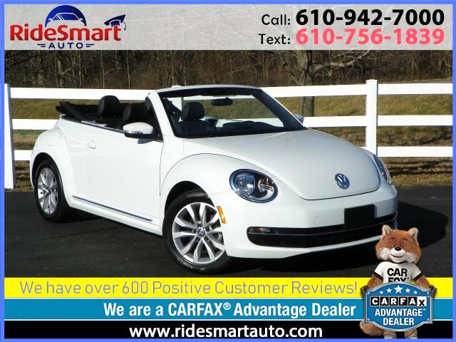 2015 Volkswagen Beetle TDI Premium Convertible Nav Bluetooth Rear Camera