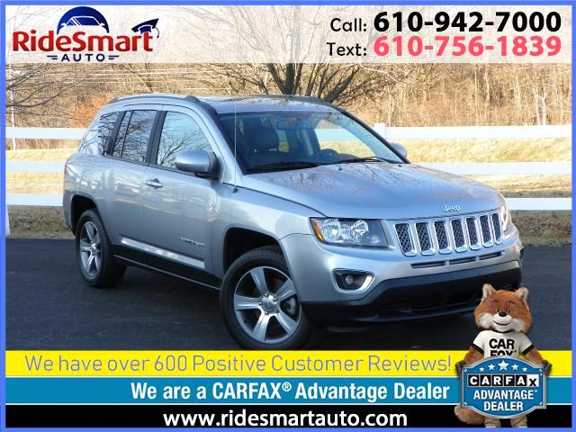 2016 Jeep Compass Latitude High Altitude 4 Wheel Drive