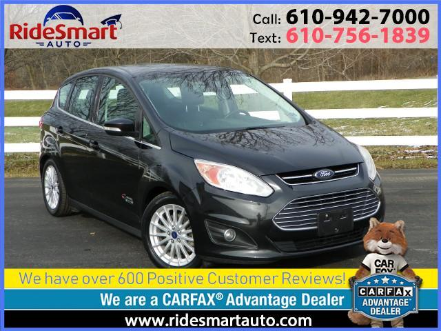 2014 Ford C-Max Energi SEL-Leather-Sunroof-Navigation-Power Rear Liftgate
