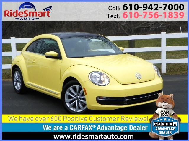 2015 Volkswagen Beetle TDI Sunroof-Bluetooth-Leather-Heated Seats