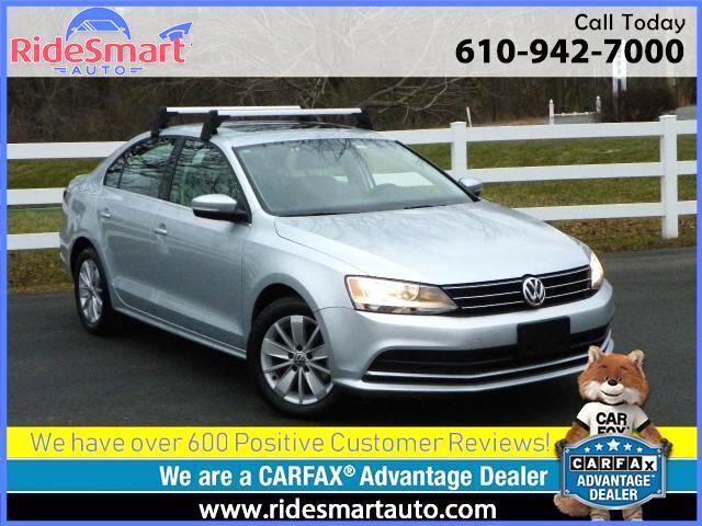 2015 Volkswagen Jetta TDI-Sunroof-Leather-Heated Seats-Bluetoth-OnStar