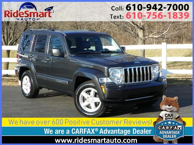2011 Jeep Liberty Limited 4WD-6 Cylinder-Leather-Heated Seats-Sunroo
