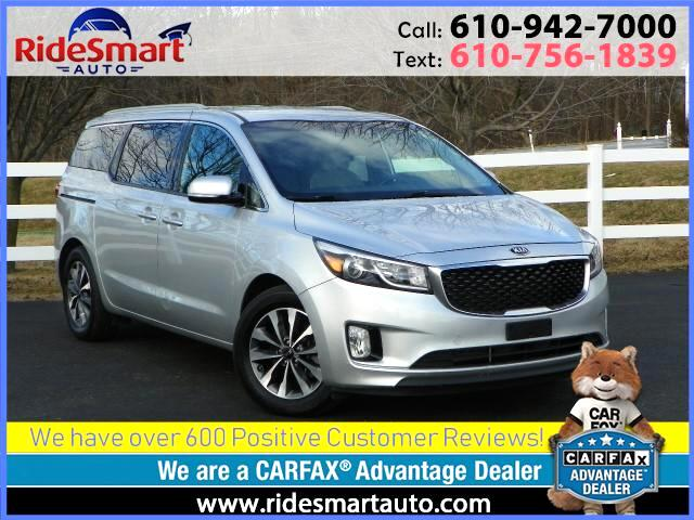 2015 Kia Sedona SX Leather-Heated Seats-Navigation