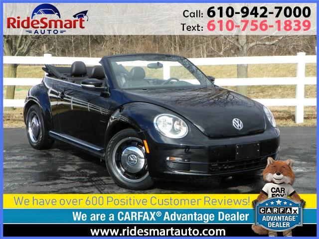 2013 Volkswagen Beetle 2.5L Convertible w/Technology