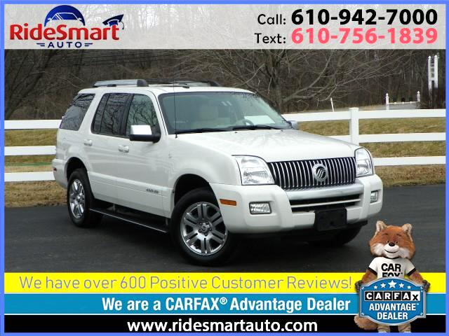 2008 Mercury Mountaineer AWD Premier 4.6 L V-8-Nav-Leather-Sunroof-3rd Row