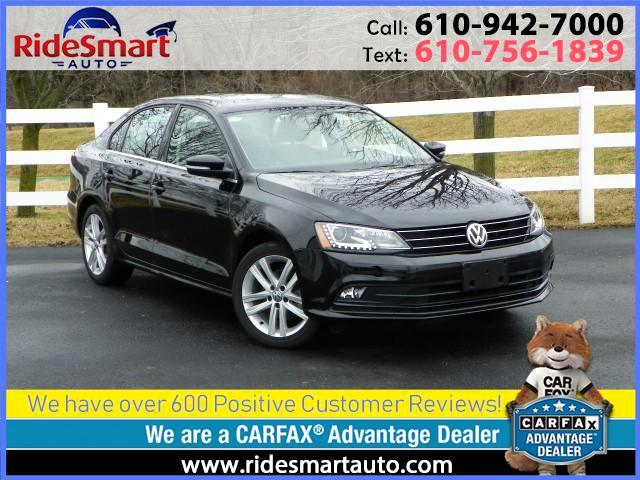 2015 Volkswagen Jetta TDI SEL Leather-Navigation-Sunroof