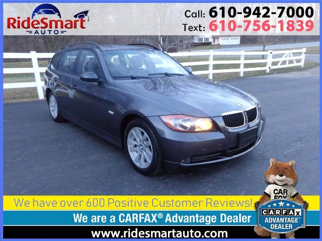 2006 BMW 3-Series Sport Wagon 325xi All Wheel Drive-6 Speed Manual