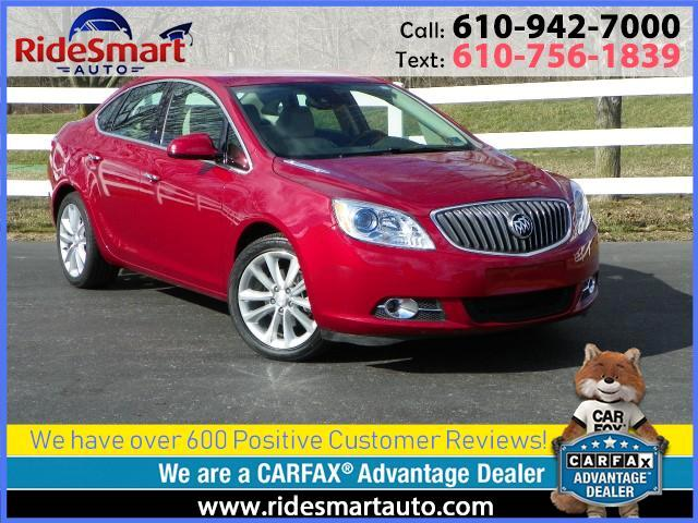 2015 Buick Verano Leather-Sunroof-Bluetooth-Back Up Camera
