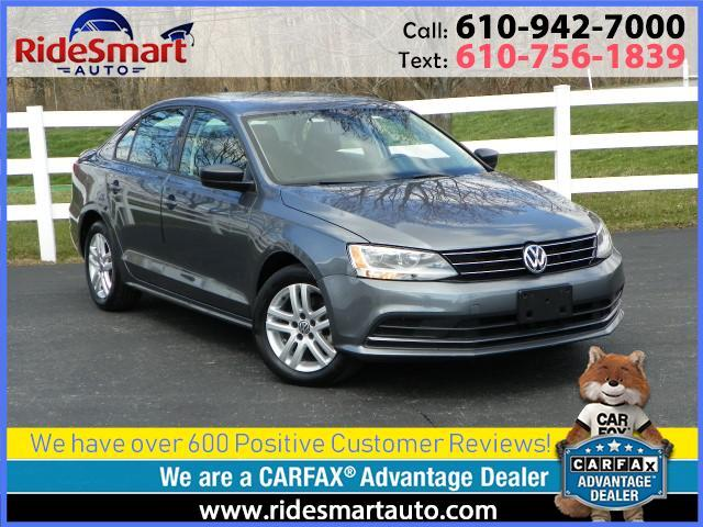 2015 Volkswagen Jetta TDI S Bluetooth-Heated Seats-Aluminum Wheels